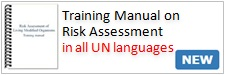 Training Manual on Risk Assessment of LMOs