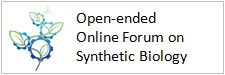 Open-ended Online Forum on Synthetic Biology